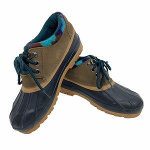 Bay Area Traders Sorority Duck Shoes Boots Navy